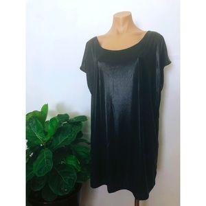 Metallic tunic/mini dress | American Apparel